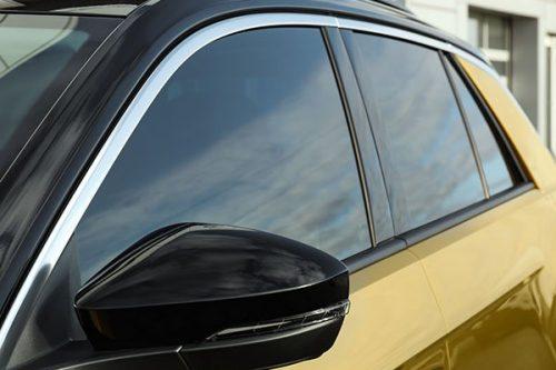 Window-Tinting-Edmonton-Champs-Detailing-Gold-Car